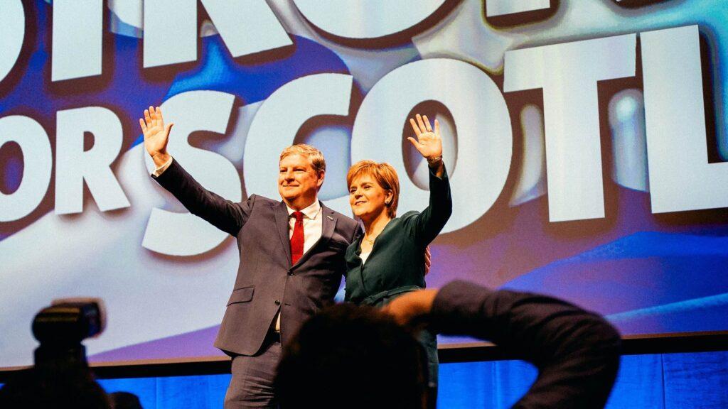 Angus Robertson with Nicola Sturgeon