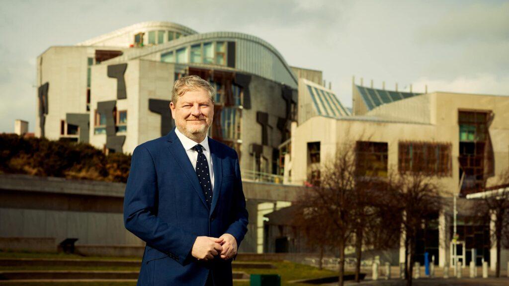 Angus Robertson at the Scottish Parliament